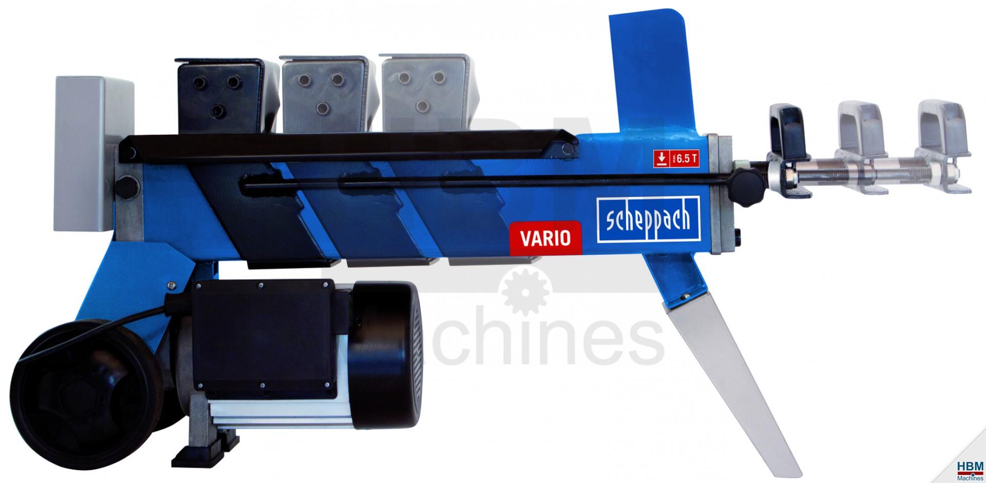 scheppach houtklover 6 5 ton hl650 hbm machines. Black Bedroom Furniture Sets. Home Design Ideas