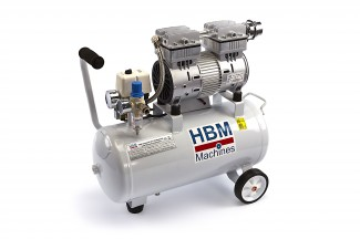 HBM 30 Liter Professionele Low Noise Compressor