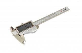 Afbeelding van Dasqua 150mm Digitale Schuifmaat met Extra Groot Scherm, RVS behuizing