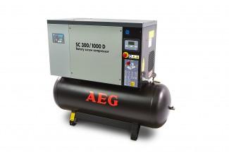 Afbeelding van AEG 270 Liter 10 PK Schroefcompressor Met Droger