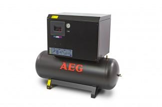 Afbeelding van AEG 270 Liter 10 PK Geluidgedempte Compressor