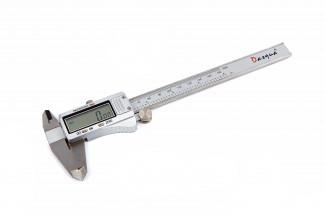 Afbeelding van Dasqua 150 mm Digitale Schuifmaat met Groot Scherm, Metalen behuizing