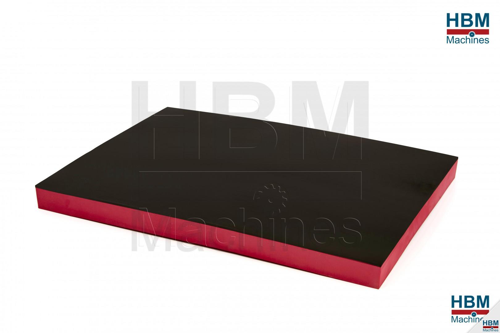 hbm foam inlay 585 x 410 x 40 mm voor gereedschapswagen. Black Bedroom Furniture Sets. Home Design Ideas