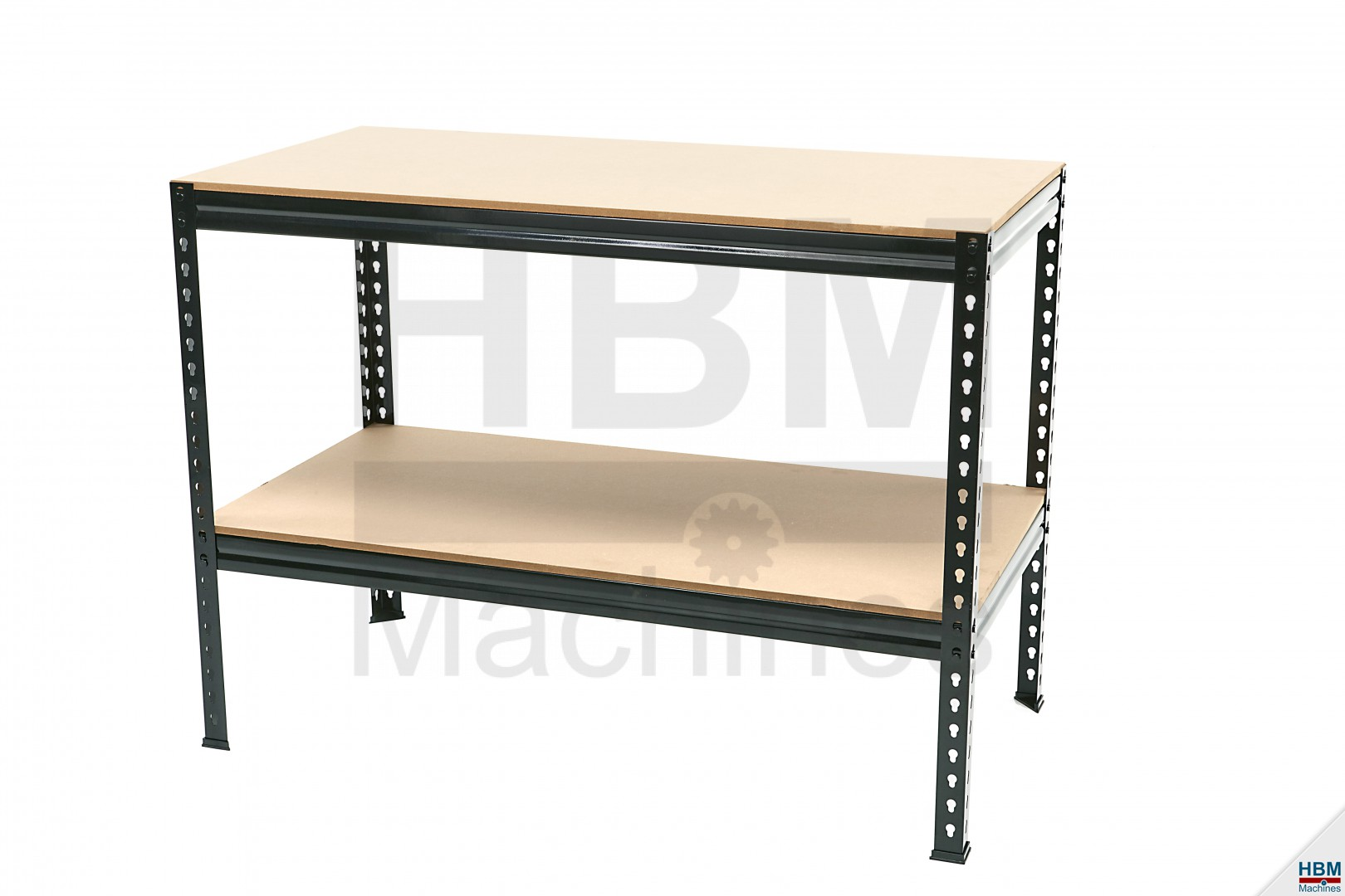 hbm 120 cm hobby werkbank met mdf blad hbm machines. Black Bedroom Furniture Sets. Home Design Ideas