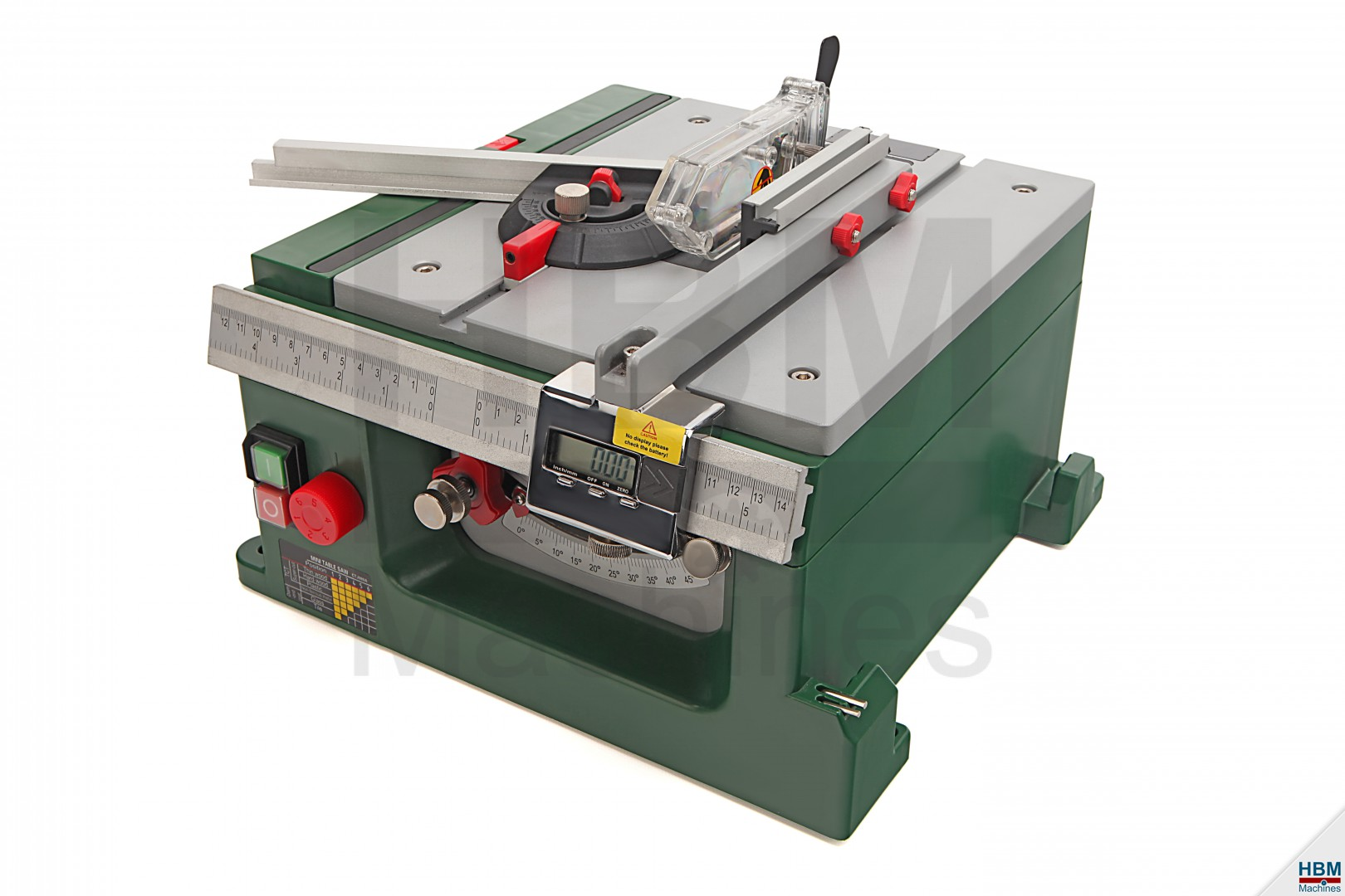 HBM Precisie Cirkelzaagtafel   HBM Machines