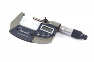 Afbeelding van Dasqua Professionele 0 25 mm Digitale Quick Buiten Micrometer