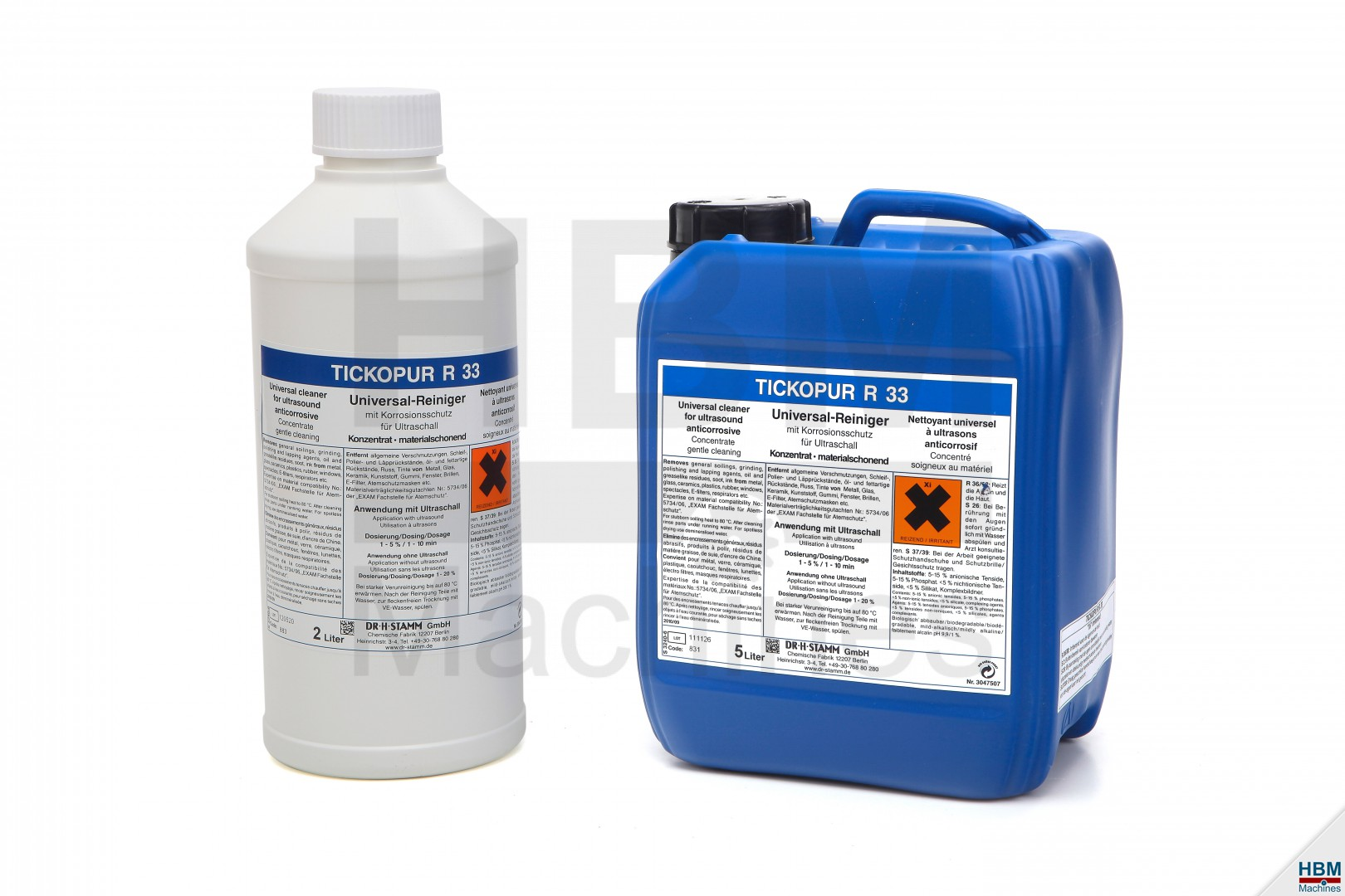 Tickopur r33 reinigingsvloeistof