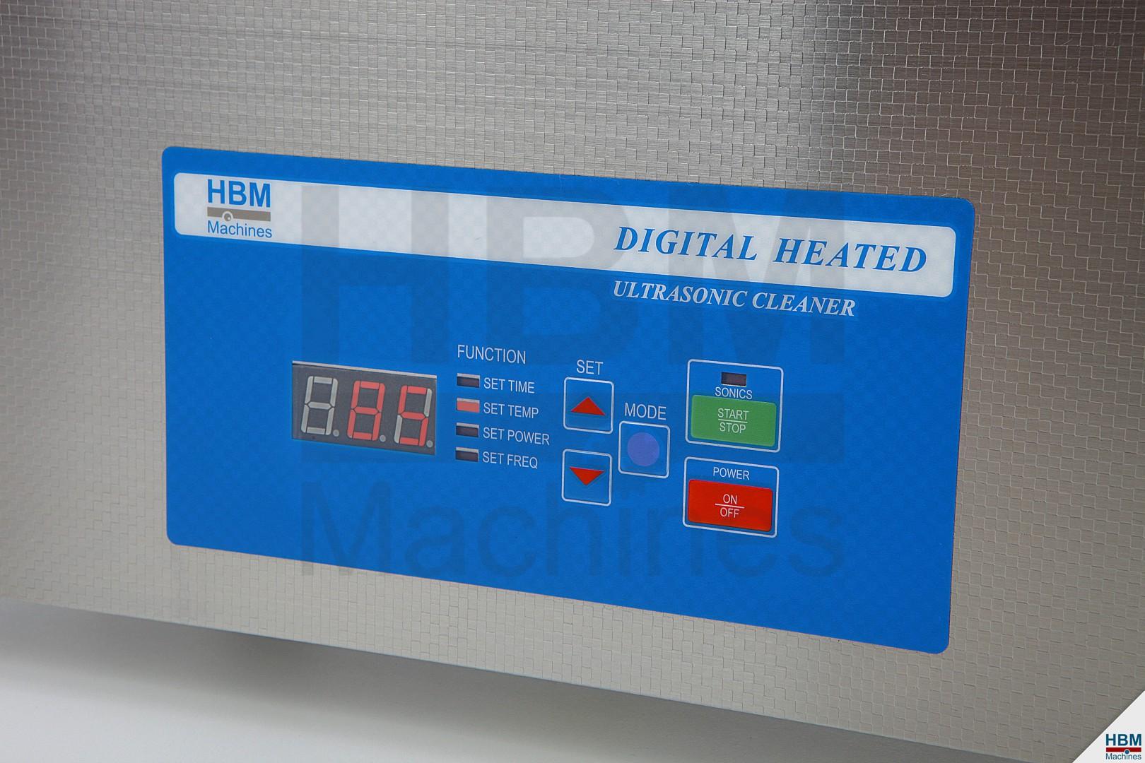 HBM 6 Liter Ultrasoon ...